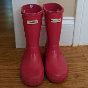 🔴SOLD🔴 Toddler Girls Hunter Rain Boots